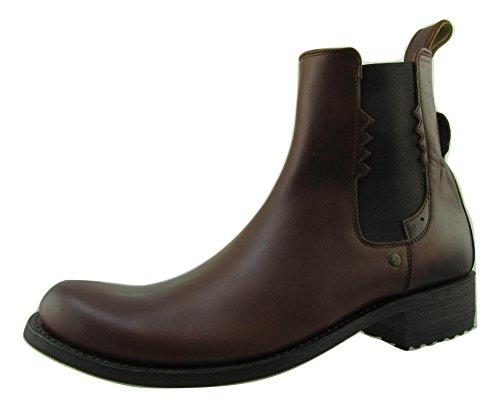 Sendra 8640 Chelsea - Botas de Piel para Hombre, Color marrón, Color Marrón, Talla 43 EU
