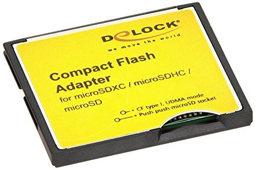 DeLock Compact Flash Adapter für Micro SD Speicherkarten