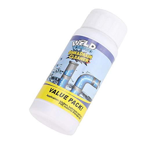 Gmkjh Limpiadores de desagües, Productos químicos domésticos Agentes limpiadores de desagües Potente espumado Esteriliza Desodoriza Tuberías obstruidas Limpieza del Inodoro