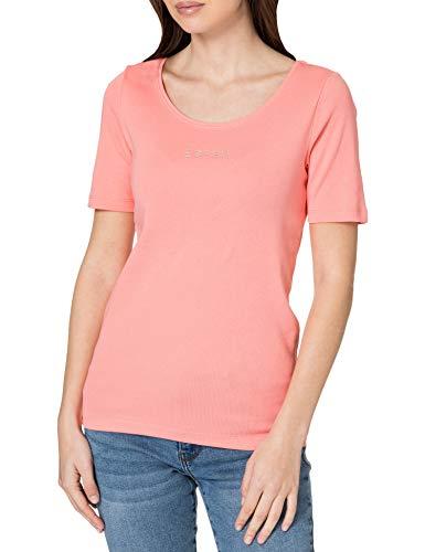 Esprit 021EE1K309 T-Shirt, 670 / Rose, XXS Femme