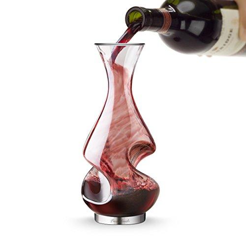Aireador de vino decantador en caja regalo - estatólatra