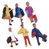 FLAMEER Figuras de Persona Figurita para Escenario de Mesa de Arena o para Caja de Arena Psicologia - Pasajero (1/87 Escala, 2cm Alto)
