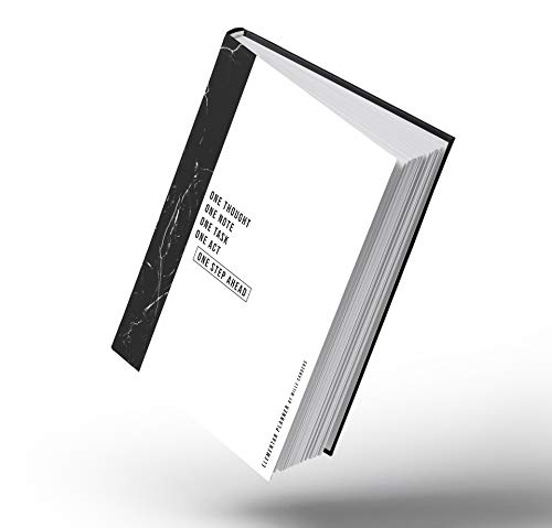 Elementar Planner - Tagesplaner undatiert mit Timeline, To Do Liste, Platz für Notizen, Zeitplanung und Tagebuchzeilen - von Mille Sanders