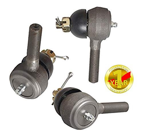 2 1 accessories Ball Joint Kit,Set of No Tie Rod End Fits for Club Car Precedent 2004-UP Right Hand Thread #1022883-01#1020226-01