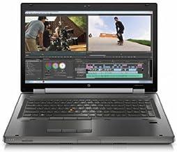 HP EliteBook 8770w 17.3-Inch Notebook (2.4 GHz Intel Core i7-3630QM Processor, 8GB SO-DIMM DDR3, 500GB HDD, Windows 10 Pro...