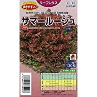 レタス 種 サマールージュ 小袋(約130粒)