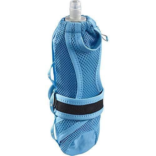 Salomon, Tragbarer Flaschenhalter, Unisex, PULSE HANDHELD, Inkl. SoftFlask-Trinkflasche (500 ml), Blau (Vivid Blue), 500 ml, LC1305000