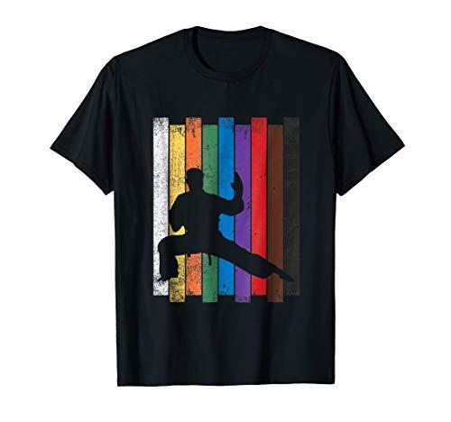 Karate Belt Shirt Karate Silhouette T Shirt Martial Arts
