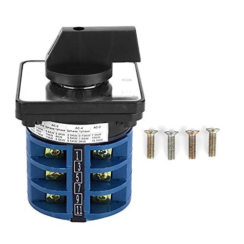 Control de interruptor de cambio, interruptor de cambio de leva giratoria de plástico LW28-32/3 para conversión de varias líneas de control