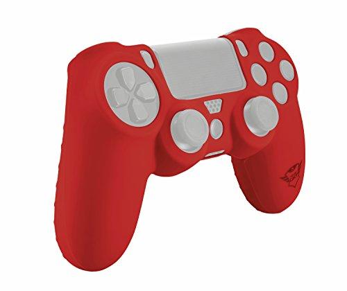 Capa para Joystick PS4 de Silicone - Vermelho - GXT 744R - Trust