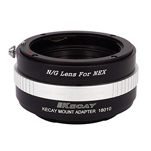 KECAY Adaptador para Adaptar Lentes de Nikon (G) DX AFS Mount a...
