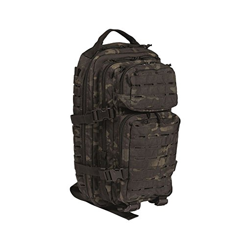 Sac à dos US Assault Pack SM Laser Cut multit.blk.