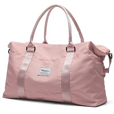 Pink Travel Duffel Bag,Sports Tote Gym Bag,Shoulder, pink8, Size No Size
