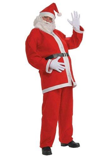 Ducomi Costume Completo Babbo Natale per Uomo (Man, One size)