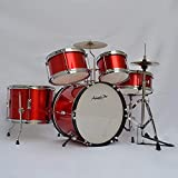 Tambor Tambor de instrumento musical musical de los niños grande un