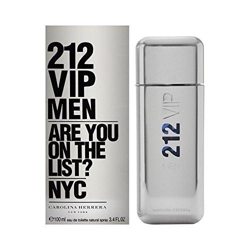 212 Vip by Carolina Herrera Spray for Men, 3.4 Ounce
