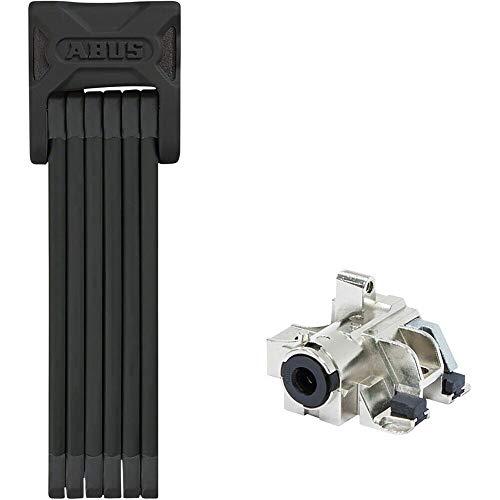 ABUS Bordo 6015/90 Folding Lock with keyed Alike eBike Battery Lock Core: Bosch Frame Type (DT2), Premium Key (Plus) No Packaging