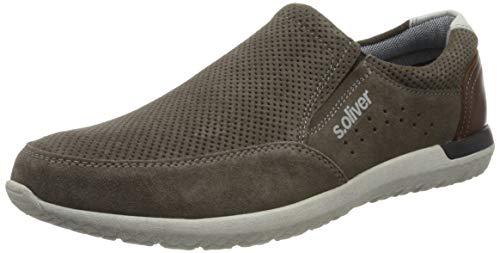 s.Oliver Herren 5-5-14607-24 Slipper, Grau (Grey 200), 44 EU