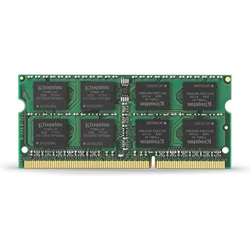 Kingston Technology ValueRAM Modulo Memoria, 1600 MHz, DDR3, Non-ECC CL11 SODI mm, 204-pin 1.5 V, 8 GB