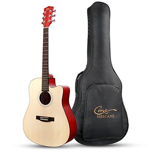 hricane principiante guitarra acústica 41