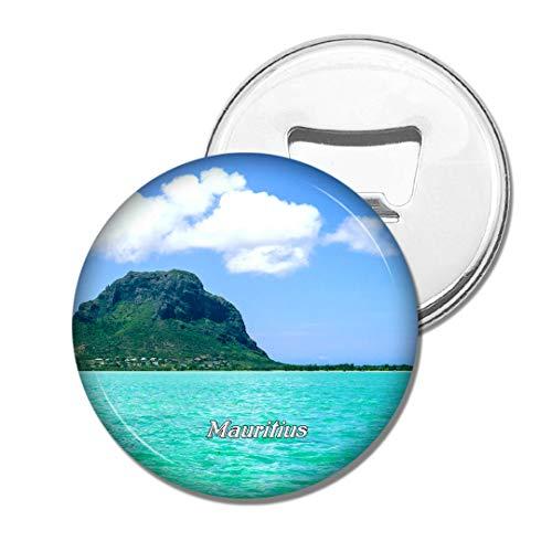 Weekino Mauritius Bier Flaschenöffner Kühlschrank Magnet Metall Souvenir Reise Gift