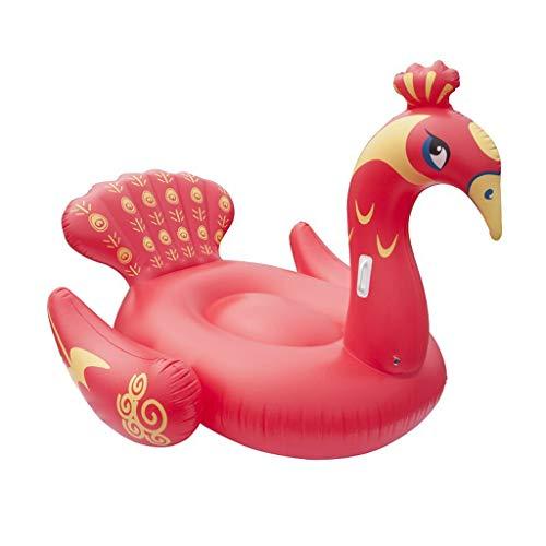 LIJUEZL Riesen-Pfauen-Premium-Vogelschwärme für Schwimmbäder,A,190X160X150CM