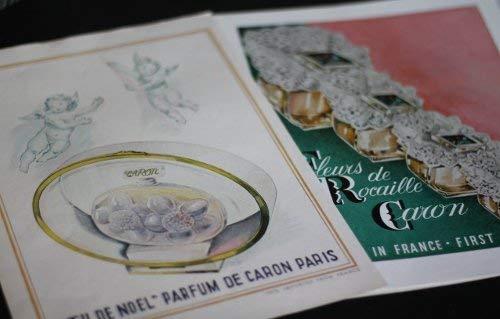 Six publicités pour les parfums Caron