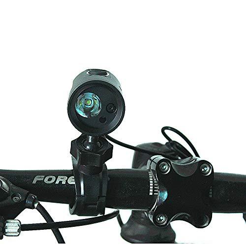 CYCPACK Luz Bicicleta con Cámara HD 720P USB Recargable Grabadora Bicicletas Noche Equipo Aire Libre del Montar Caballo, 500LM · Tarjeta De Memoria Incl.16G / 7200 Mah De Litio/Cable USB