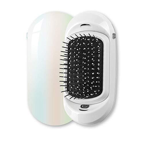 YUHUANG Ion Haarbürste, 2 Magie tragbare elektrische Ionenhaarbürste Upgrade Kamm Negativ-Ionen-Haarbürste Haar-Styling Kopfmassage,2