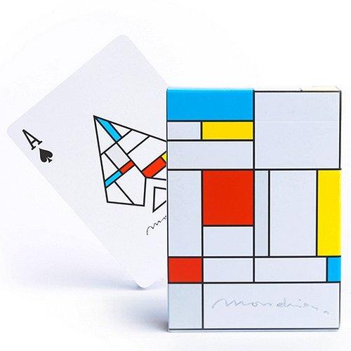 Tavoloverde Cartas de Juego Mondrian