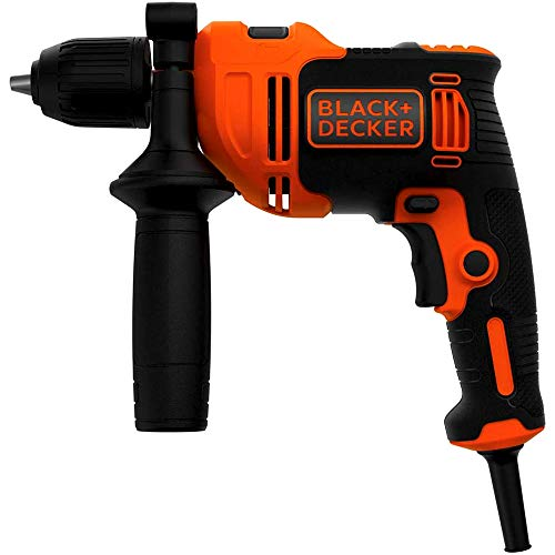 Black+Decker BEH550-QS - Taladro percutor, 550 W