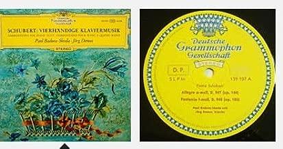 Schubert - Paul Badura-Skoda, Jörg Demus – Vierhändige Klaviermusik, Version ESTEREO Brazil. LP (DGG)
