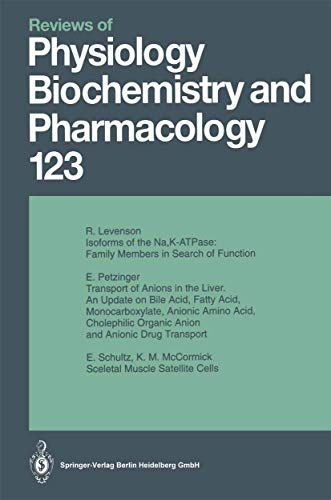Reviews of Physiology, Biochemistry and Pharmacology: v. 123