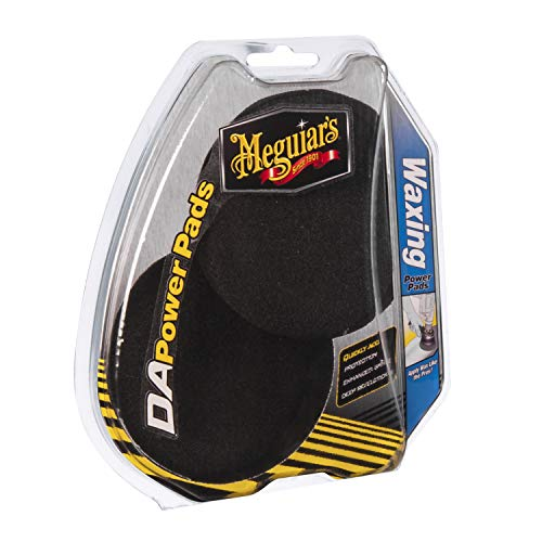 Meguiar's Car Care Products 1291580 Waxing Pad Pack, Set di 2