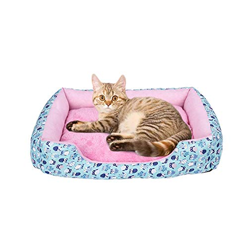 Hond Bed Mat Kennel Zachte Hond Puppy Huisdier benodigdheden Nest voor Kleine Medium Honden Bed Huis Waterdichte Lak,A,45X35X8CM