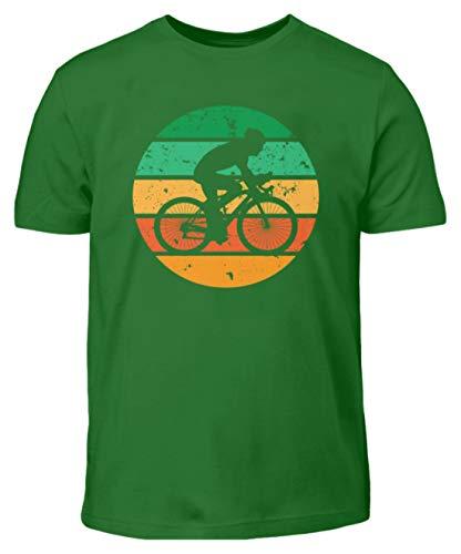 Maglietta da bicicletta per bambini. Kelly Verde (110 cm/116 cm)
