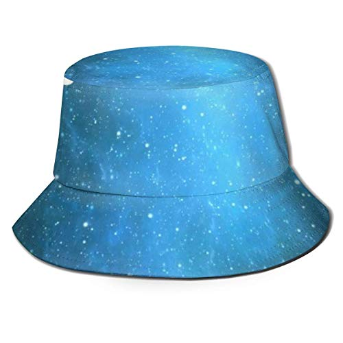 Lawenp Sombrero de Cubo Plegable para Mujer, Letrero de esgrima Espacial, Sombrero de Verano Transpirable para Pesca, Sombrero de Caza, Sombrero Boonie para Mujeres y Hombres