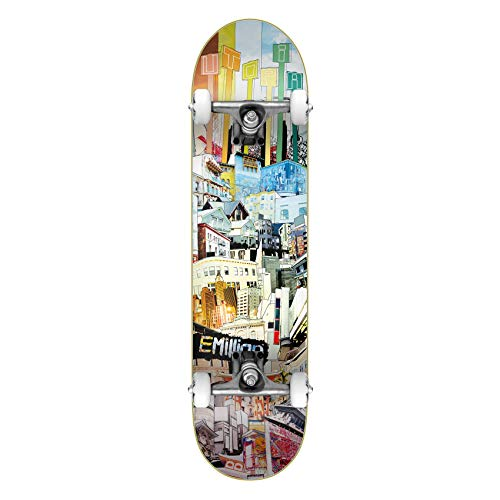 Emillion Skateboard Komplettboard Art Utopia 8.125