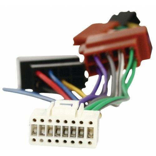 CABLEPELADO Cable de Audio ISO Compatible con Alpine 0.15 M Negro