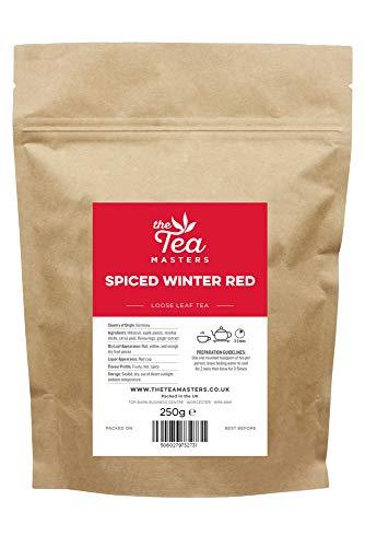 The Tea Masters Té de hojas sueltas Rojo especiado de invierno 250g