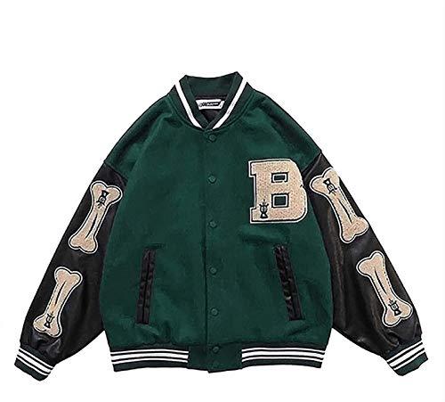 Męska kurtka college Baseball kurtka sportowa kurtka dresowa kurtka bejsbolówka Unisex kurtka college Oldschoolowa kurtka uniwersalna kurtka dresowa Letter Streetwear