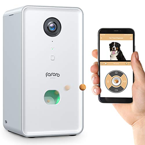 Faroro Dog Camera Treat Dispense...