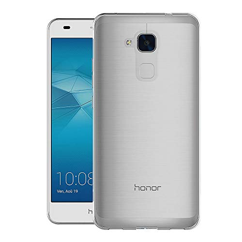 AICEK Huawei Honor 5C Hülle Case, Ultra-Clear Honor 5C Case Silikon Soft TPU Crystal Clear Premium Durchsichtig Handyhülle Schutzhülle Case Backcover Bumper Slimcase für Honor 5C - 3