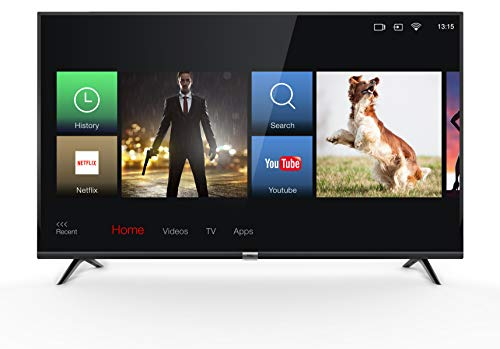 TCL 43DP602 Smart TV 3.0 Ultra Slim, Dolby Audio per Suoni Chiari e Dinamici (4K Ultra HD, HDR, Triple Tuner, Smart TV, Alexa, Micro Dimming), 43 Pollici (108 cm)