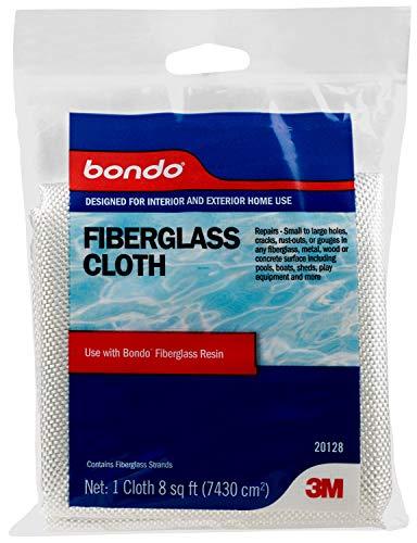 Bondo Fiberglass Cloth, 20128, 8 sq ft