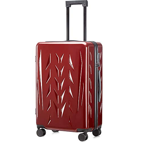 ZION & PISHON ZP Luggage 28 inch with Spinner Wheels, Built-In TSA lock,100% Polycarbonate