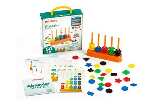 Miniland- Abacolor 45310, Multicolore, 1