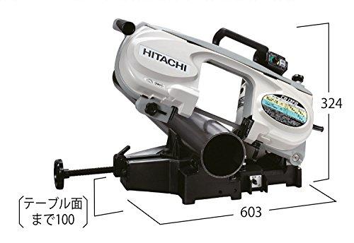 HiKOKI(ハイコーキ)旧日立工機ロータリバンドソー丸パイプ切断最大φ123mm100V斜め45度切断可CB13FB