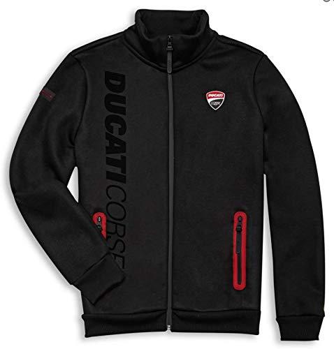 Ducati Corse Track Fleecejacke Pullover Sweatshirt Sweatjacke NEU 2021 (XXL)