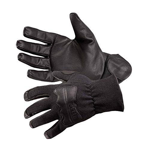 5.11 Tactical TAC NFO2 Glove, Flame-Resistant Fabric, TacticalTouch Precision, Black, XL, Style 59342